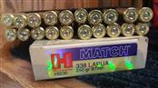 Ammunition .338 LAPUA  ( NEW )